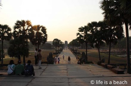 Angkor Wat - life is a beach