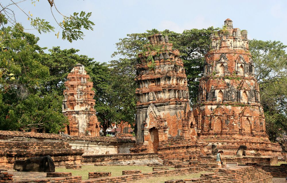 Ayutthaya - Wat Mahathat - life is a beach