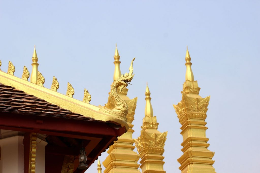 Vientiane Pha That Luang - life is a beach
