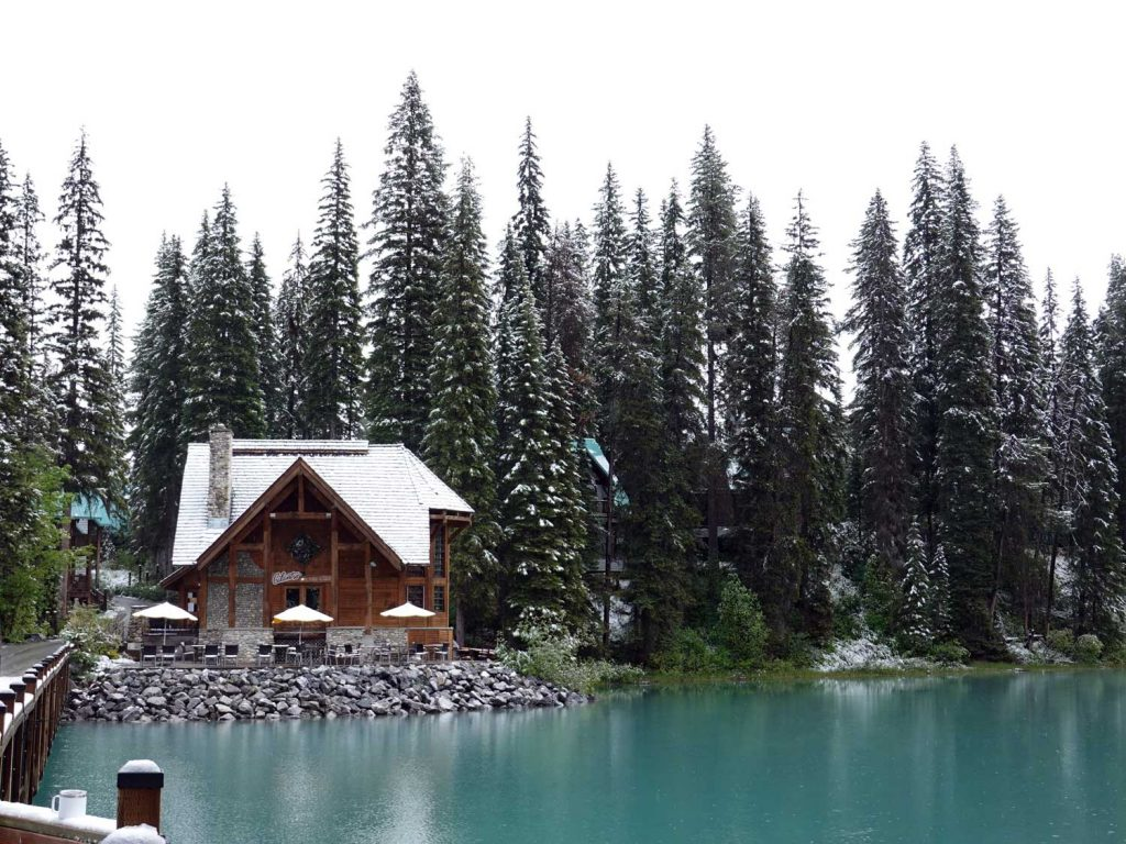 Emerald Lake - life is a beach